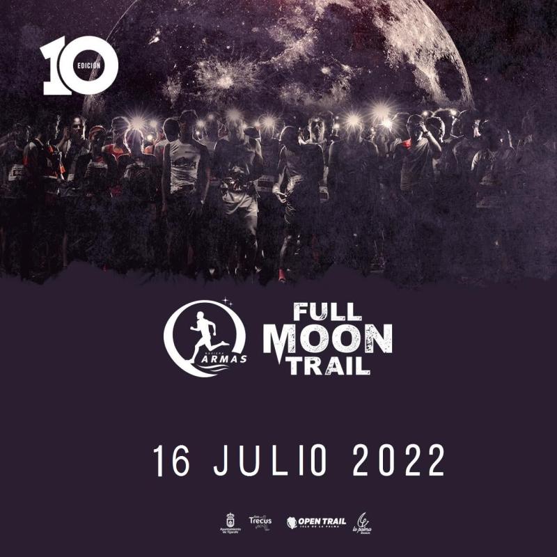 X FULL MOON TRAIL - Inscríbete